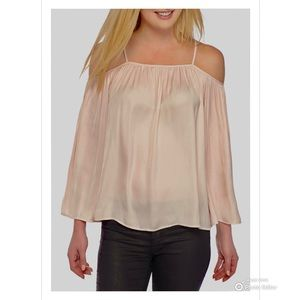 Vince Camuto Havana Blouse Womens Top Size Small